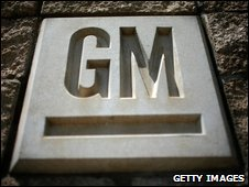 GM sign