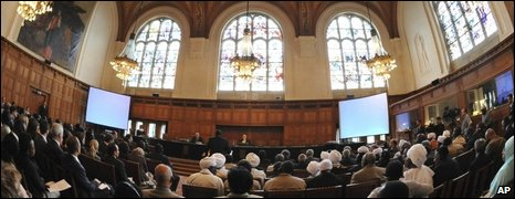 The Great Hall of Justice at the Peace Palace in The Hague, 22/07