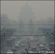Air pollution in China (Getty Images)