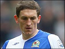 Blackburn Rovers midfielder Keith Andrews