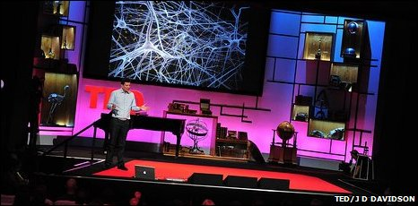 Professor Markram said he would send a hologram to talk at TED in 10 years