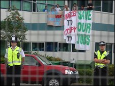 Vestas protest
