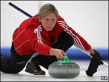 File photo of Scottish curler Eve Muirhead