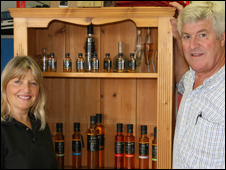 Monica and David Nunn of Great Ness Oil