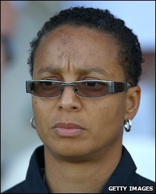 England Women's coach Hope Powell