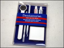 Dentanurse first aid kid for teeth