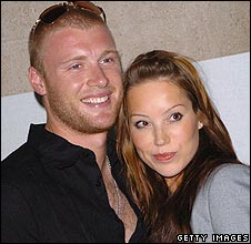 Andrew and Rachael Flintoff
