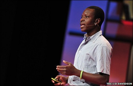 William Kamkwamba (TED/J D Davidson)