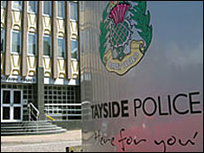 Tayside Police sign
