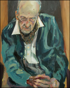 Portrait of Henry Allingham by Dan Llewelyn Hall