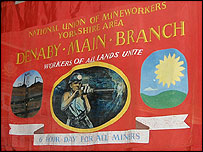 Denaby colliery banner