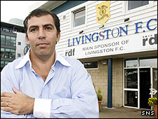 Livignston chairman Angelo Massone