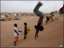 Mauritania sand dune (AP)