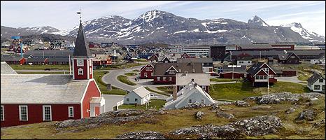 Ilulissat (Image: BBC)