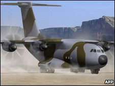 Artist impression of the Airbus A400M