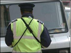 London traffic warden