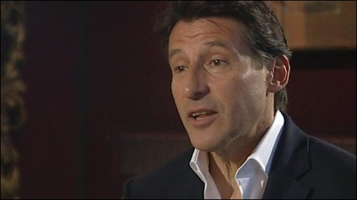 Olympic chairman Lord Coe