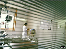 Hospital room (file pic)