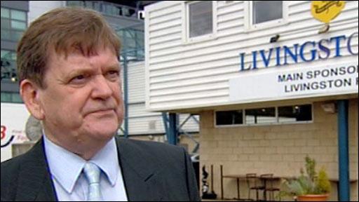 Livingston interim manager Donald McGruther