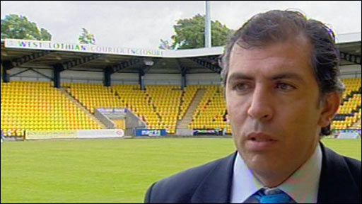 Livingston chairman Angelo Massone