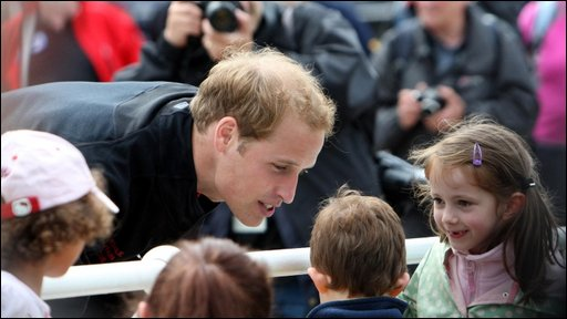 Prince William in Cumbria
