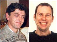 Stuart Jordon (left) and Richard Clarkson