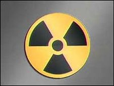 Image of a radiation warning sign