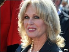Joanna Lumley at the parade