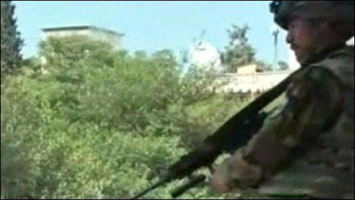 Afghan soldier in Khost