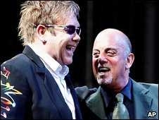 Sir Elton John and Billy Joel