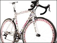 Lance's bike