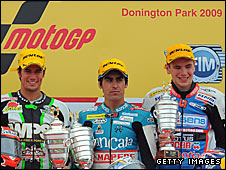 Simone Corsi, Julian Simon and Scott Redding