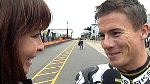 Suzi Perry interviews James Toseland