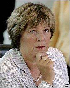 German Health Minister Ulla Schmidt, June 2009