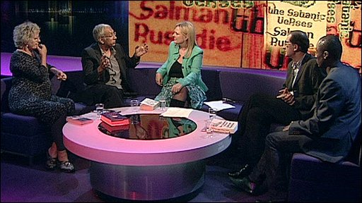 The Newsnight Review panel discuss the Satanic Verses