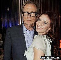 Bill Nighy and Kelli Garner