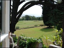 The view from Tennyson's drawing room