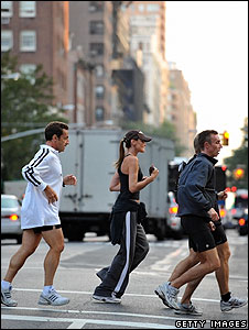 Nicolas Sarkozy and Carla Bruni in New York