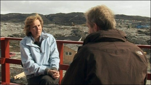 Stephen Sackur talks to Connie Hedegaard