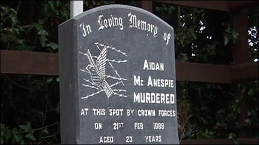 McAnespie memorial