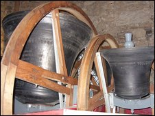 Bells at St Nicholas church