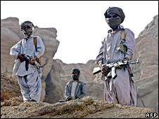 Baloch nationalist members in Pakistan