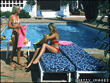 Tourists/sun loungers (file pic)