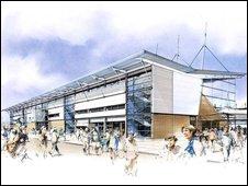 Wakefield's new stadium plan