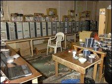 A DVD factory