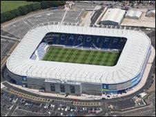 The Cardiff City Stadium holds 26,500 spectators