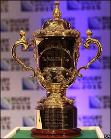 Web Ellis Trophy - from BBC news