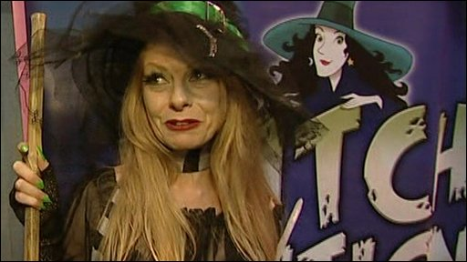 Caroline Bohanan, the new Wookey Hole witch