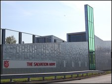 Salvation Army citadel in Chelmsford