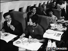 In-flight catering, 1950s style
